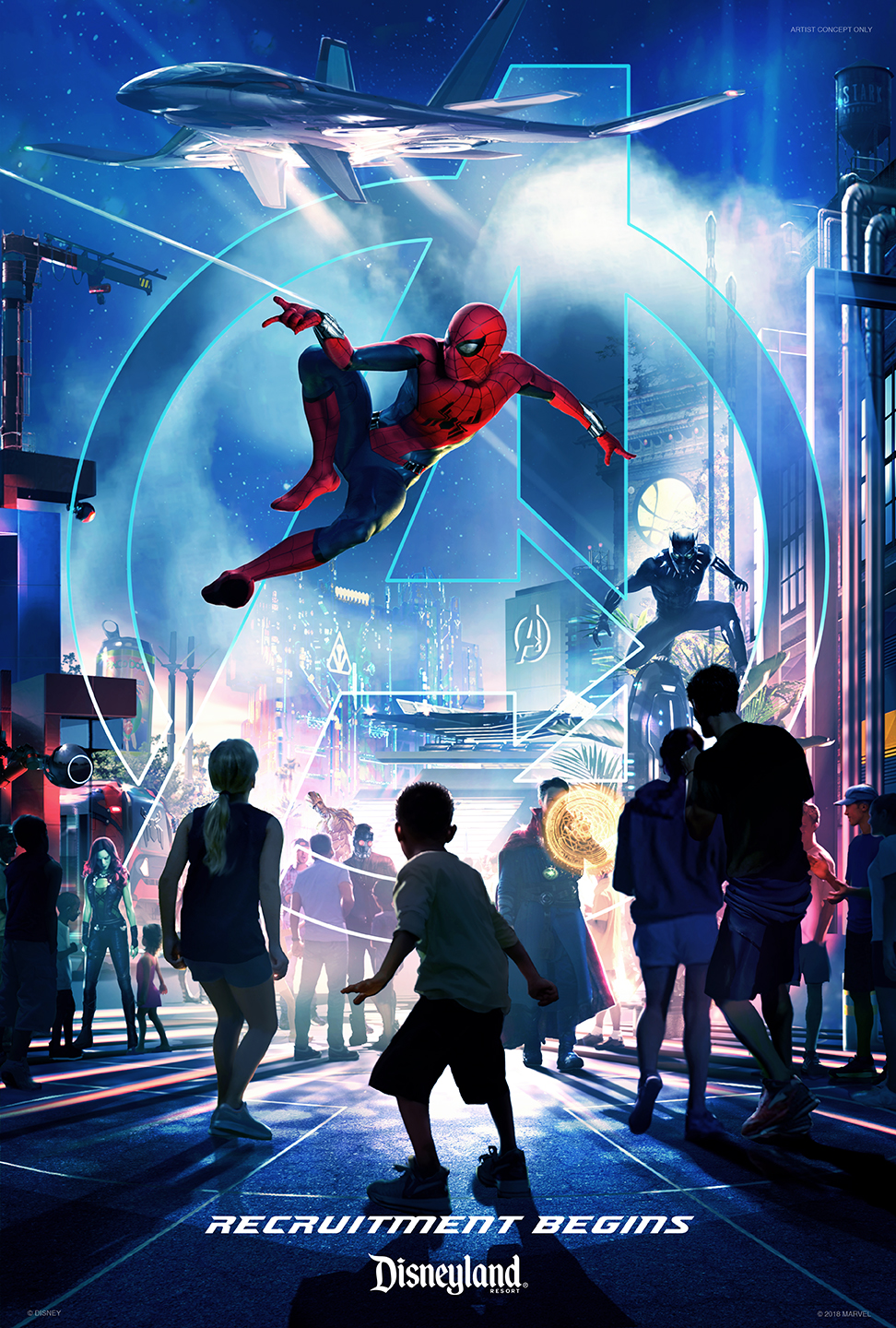 Avengers and Other Super Heroes to Assemble in New Themed Area at Disney California Adventure in 2020
