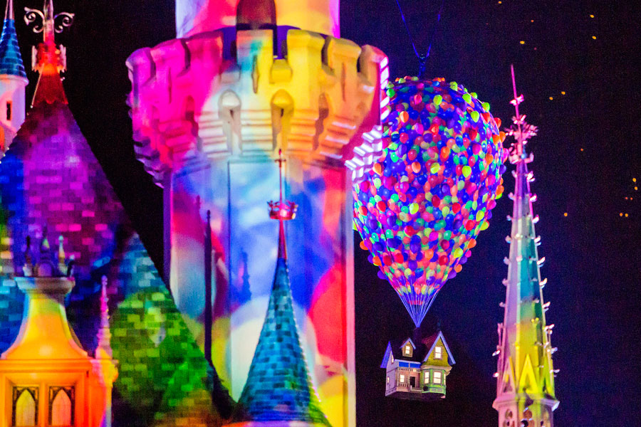 'Together Forever – A Pixar Nighttime Spectacular' Premiering April 13 with the Begin of Pixar Fest