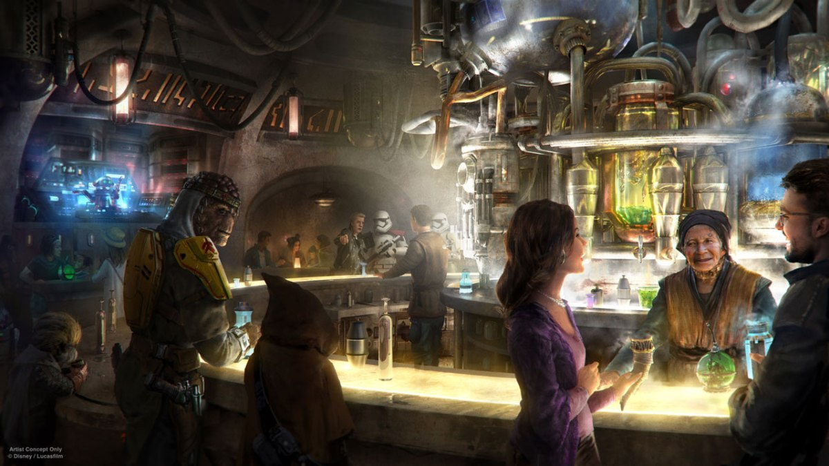 Disney Announces Oga's Cantina Coming to Galaxy's Edge