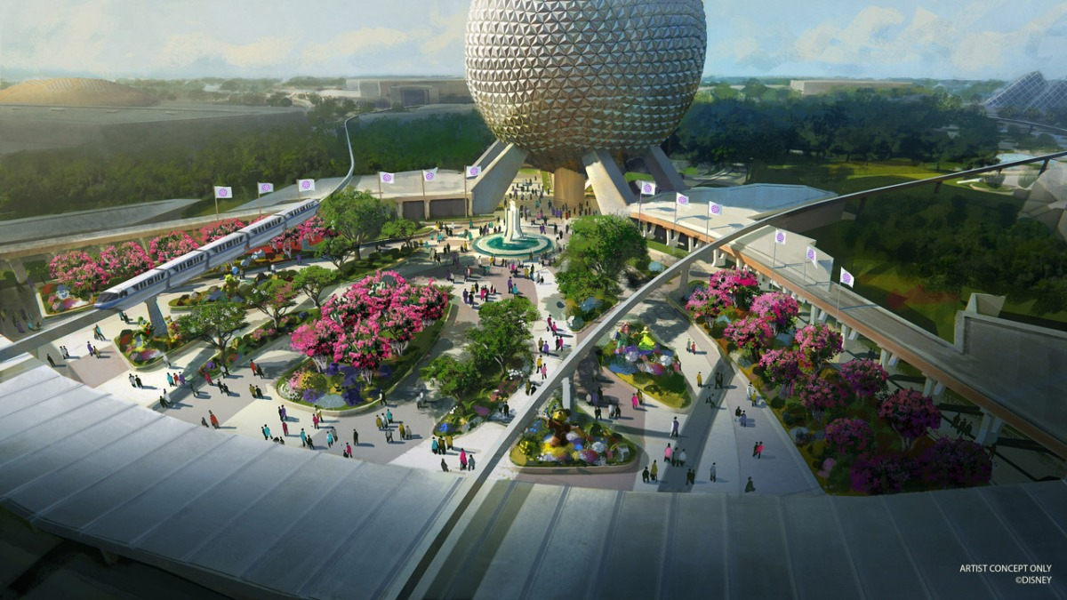 Disney Reveals Initial Concepts for Epcot Transformation