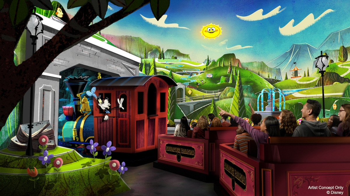 Mickey & Minnie's Runaway Railway Coming to Disneyland