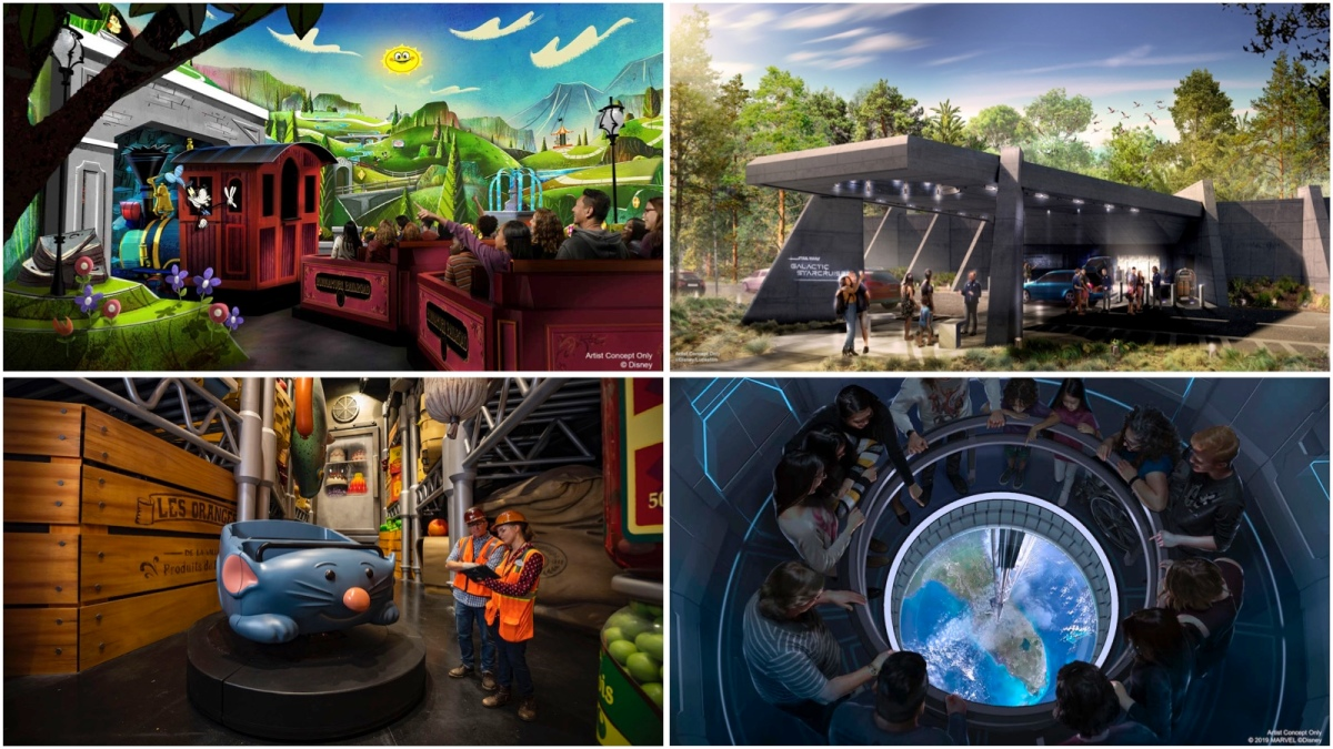 Walt Disney World Announces Details and Opening Dates for Disney Parks Experiences