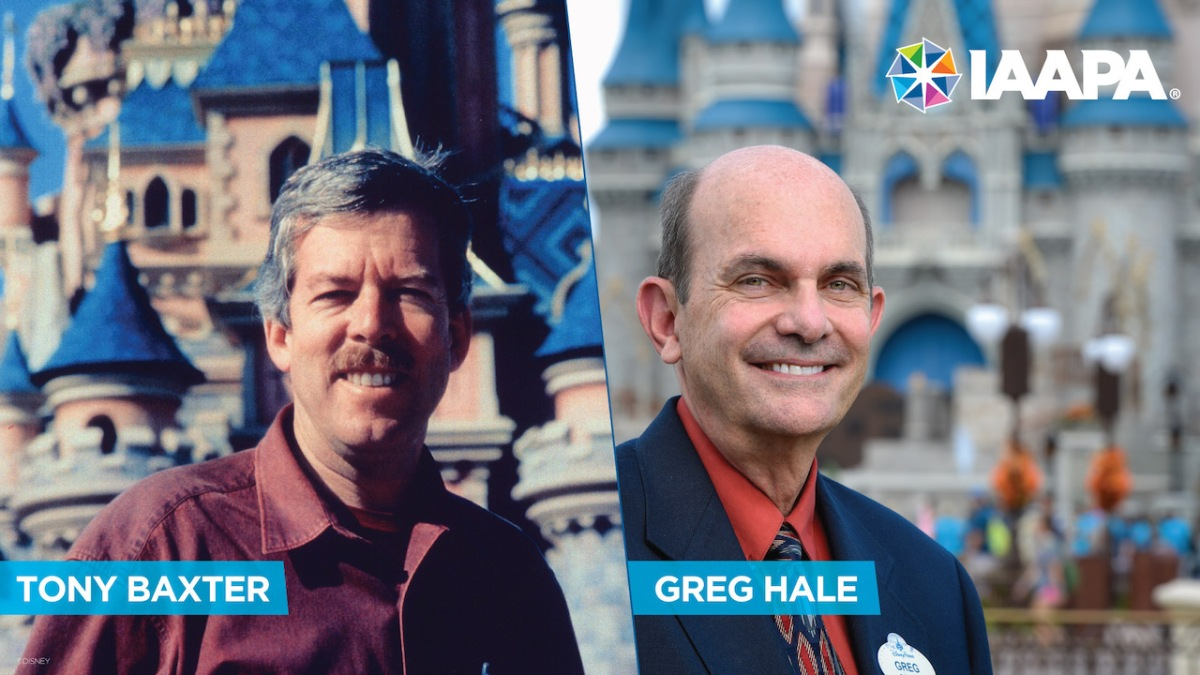 Tony Baxter and Greg Hale Inducted into IAAPA Hall of Fame