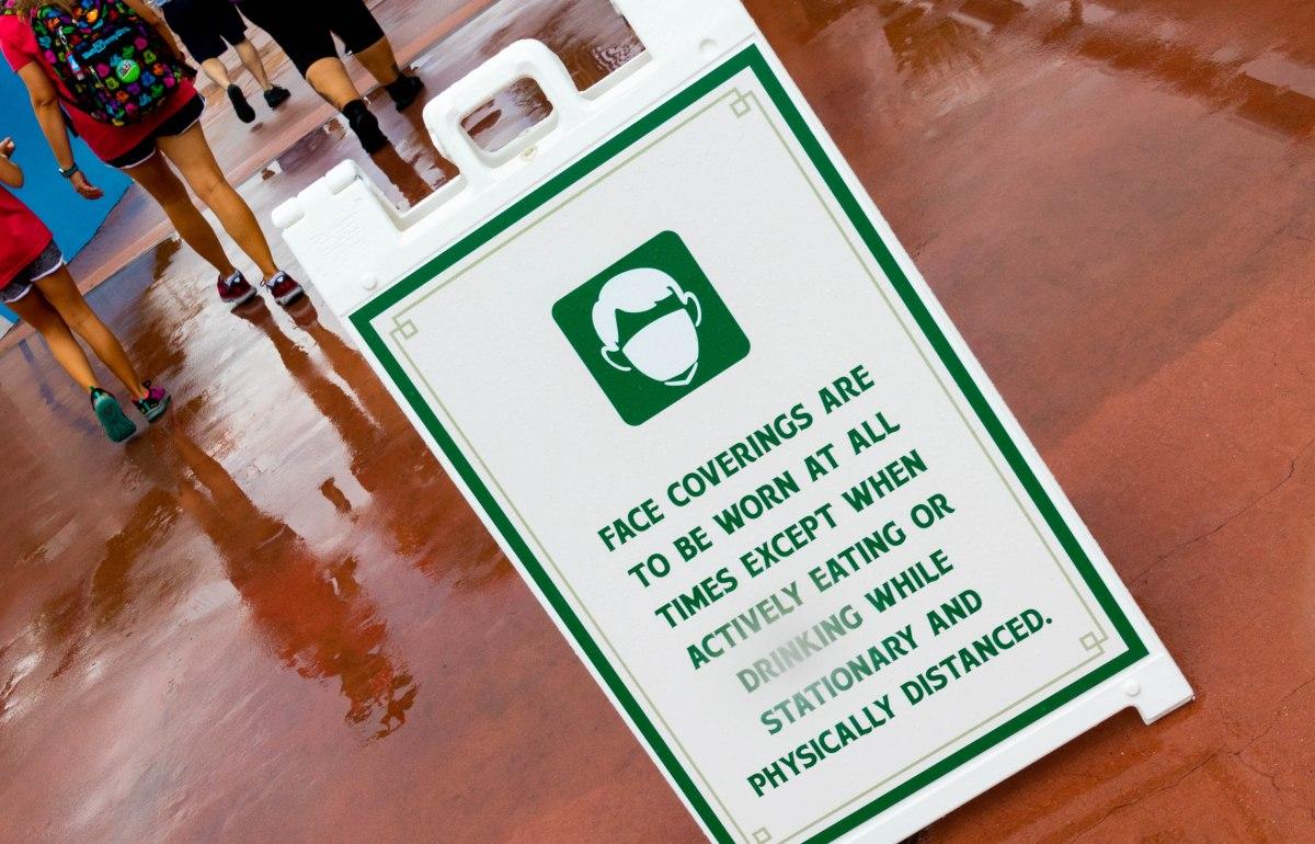 Walt Disney World Ends Outdoor MaskRequirement
