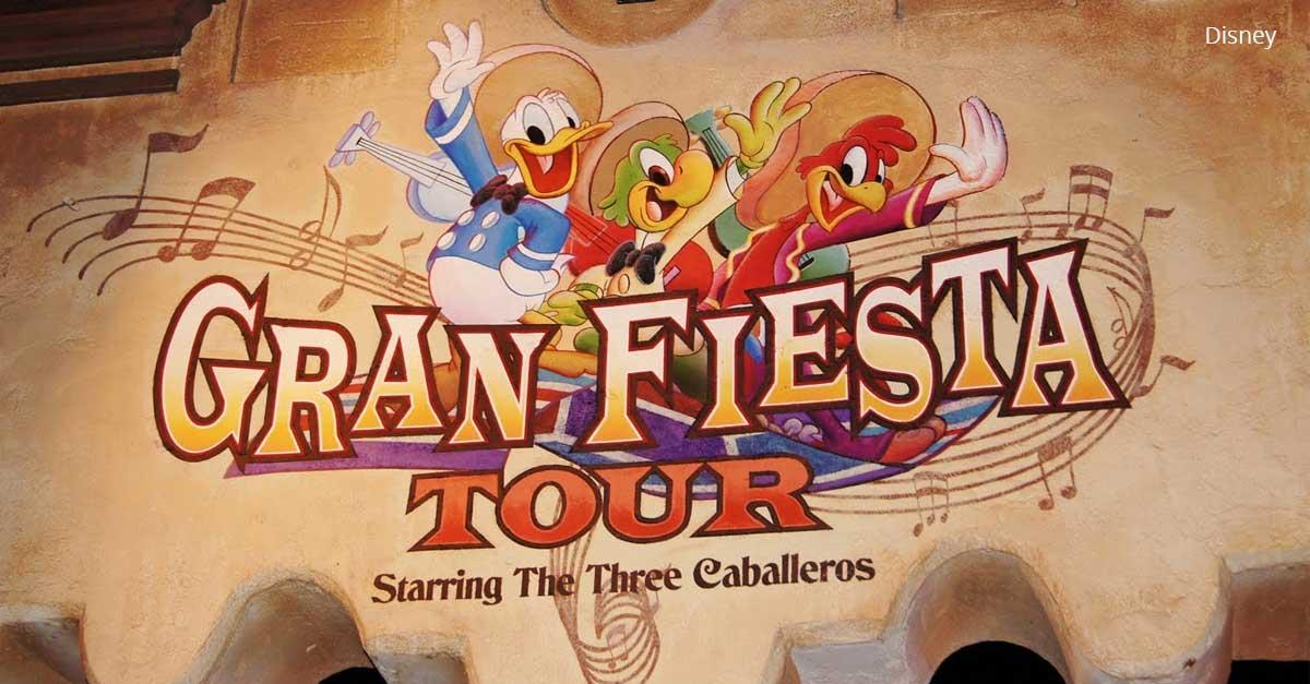 The Three Caballeros AA's Return to the Gran FiestaTour
