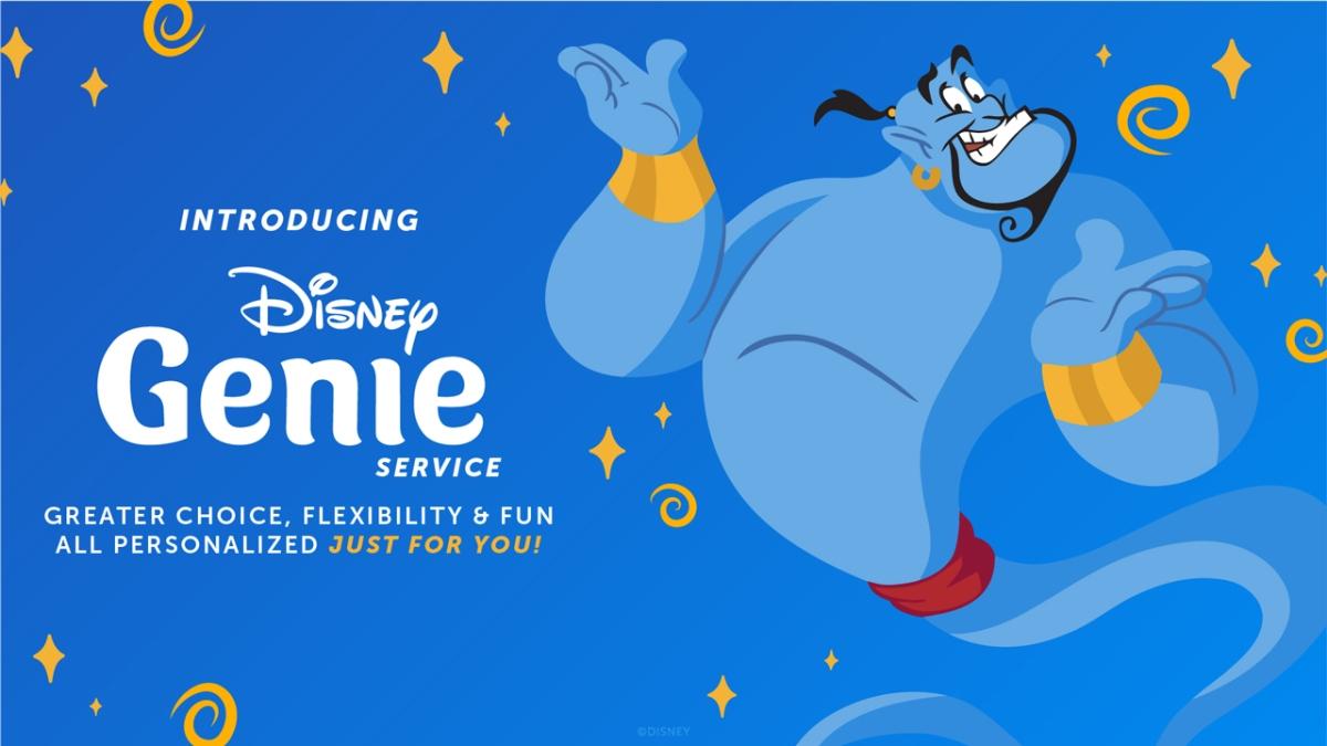 Disney Announces Disney Genie Service for Walt Disney World and DisneylandResort