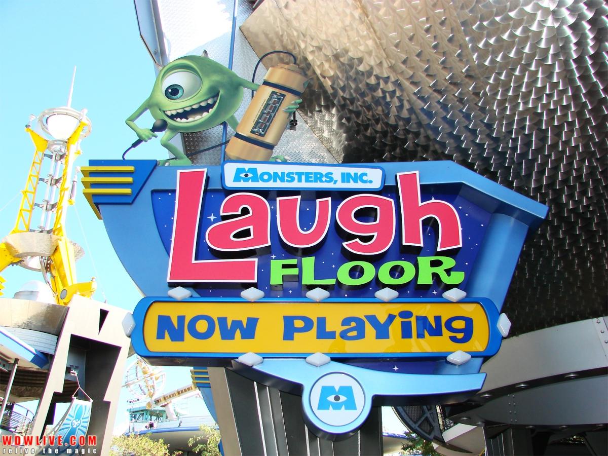 Monsters Inc. Laugh Floor Re-Opens Ahead ofSchedule